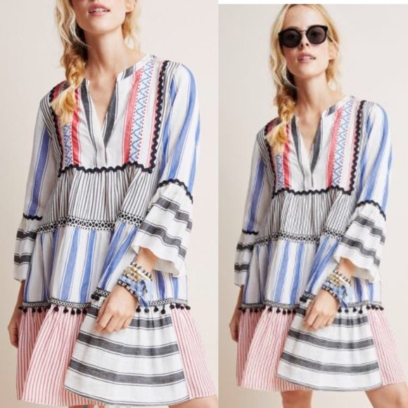 Anthropologie Dresses & Skirts - NWT Anthro Devotion Petra tiered tunic dress